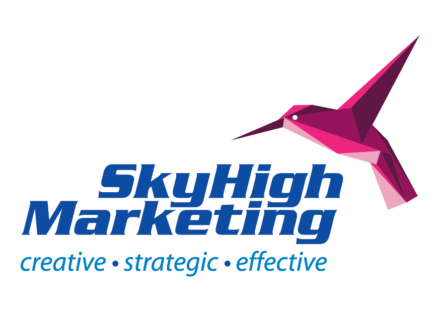 SkyHigh Marketing Logo Design