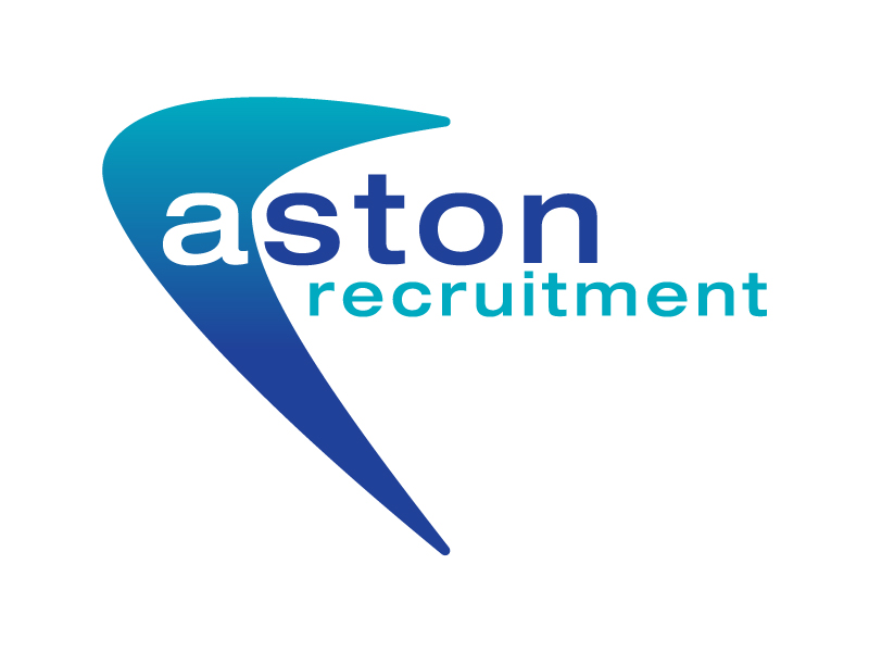 Aston Recruitment Logo Design