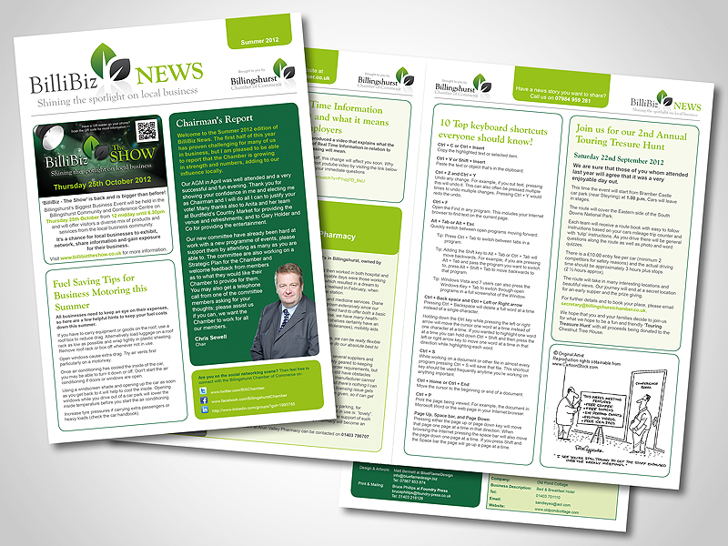 Company Newsletter Designs Company Newsletter Design