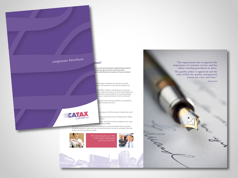 Corporate and Company Brochure Design
