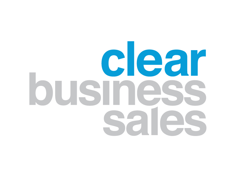 Clear Business Sales Logo Design