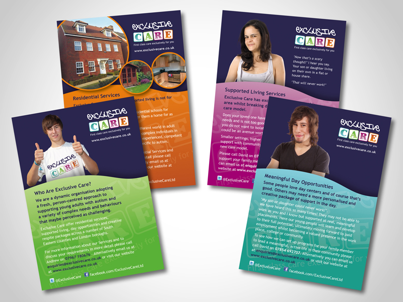 Exclusive Care Direct Mail Design and Marketing