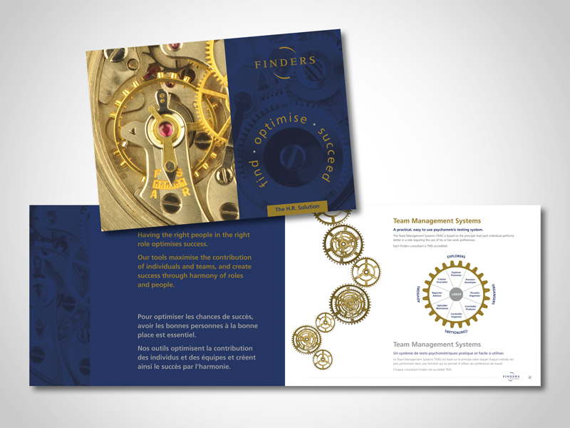Finders SE Corporate Brochure Design