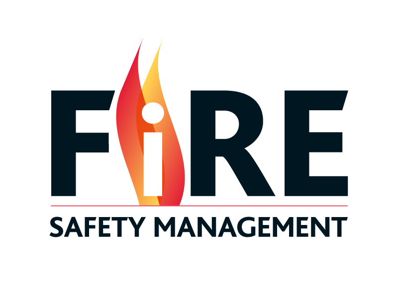 Fire Safety Management Logo Design