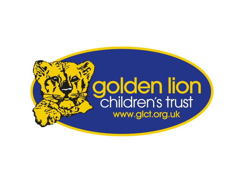 Golden Lion Children's Trust Logo Design