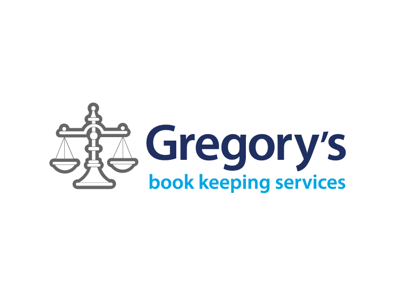Gregory's Book Keeping Logo Design