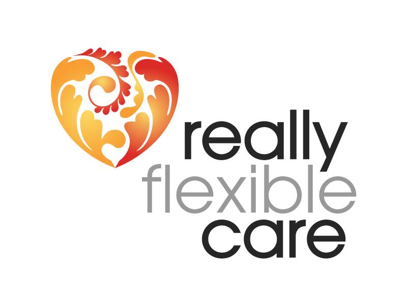 Really Flexible Care Logo Design