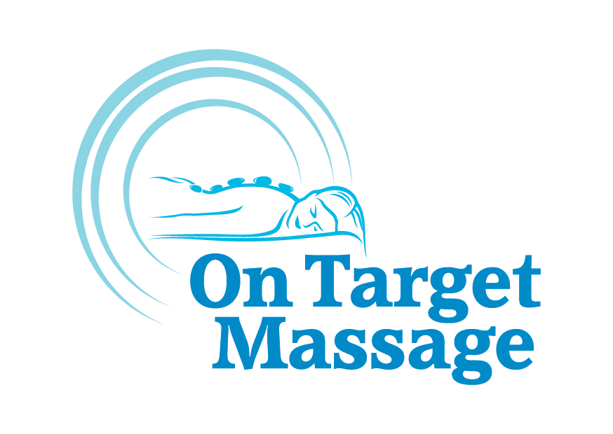On Target Massage Logo Design