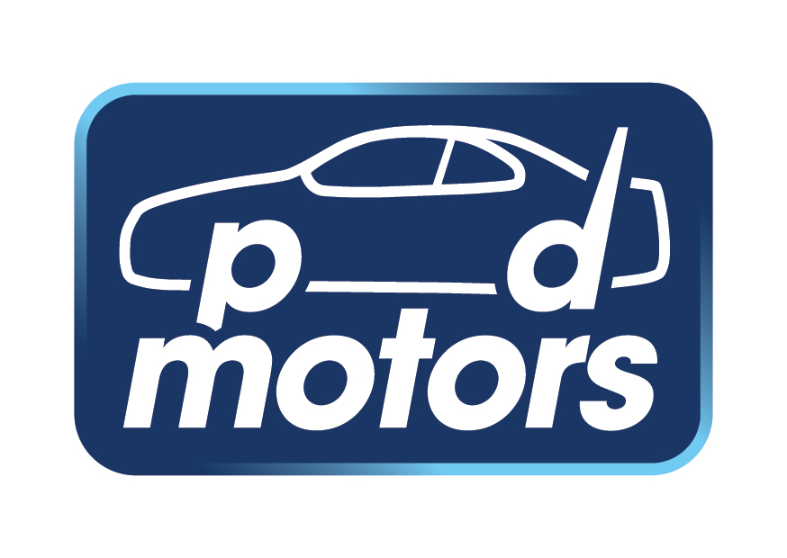 PD Motors Logo Design