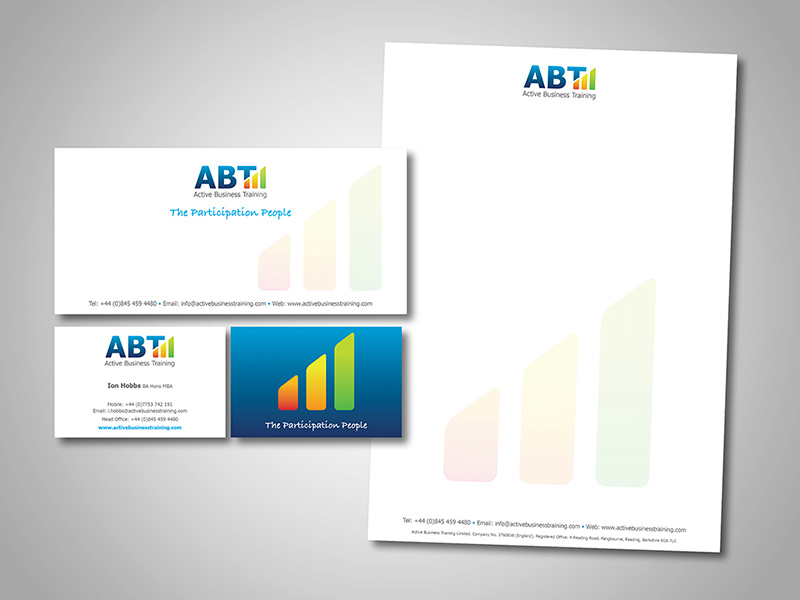 ABT Business Branding and Stationery Design by BlueFlameDesign