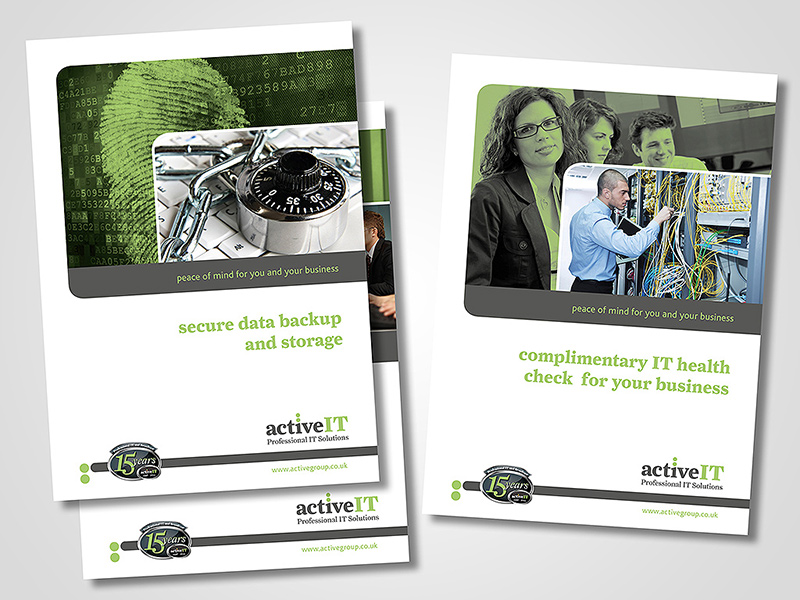 ActiveIT Marketing Brochure Design by BlueFlameDesign
