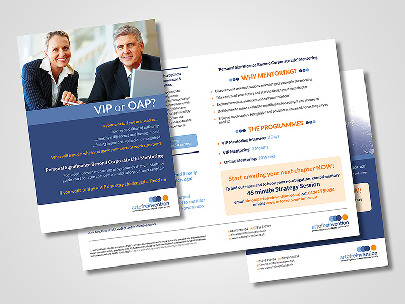 Company Brochure Design by BlueFlameDesign