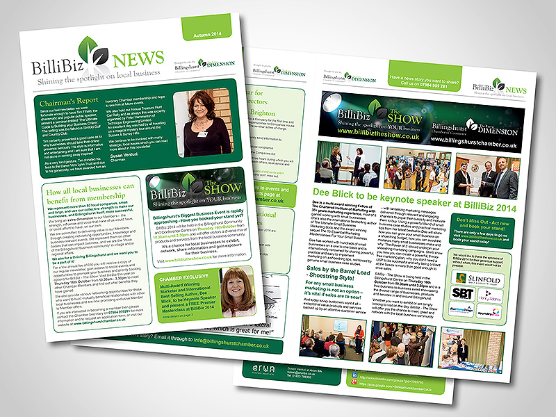 company newsletter designs images