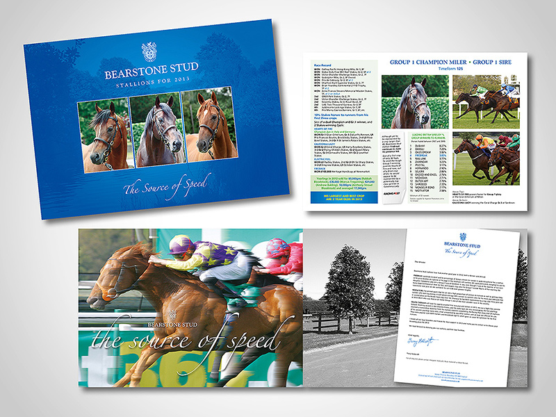 Bearstone Stud Brochure Design by BlueFlameDesign