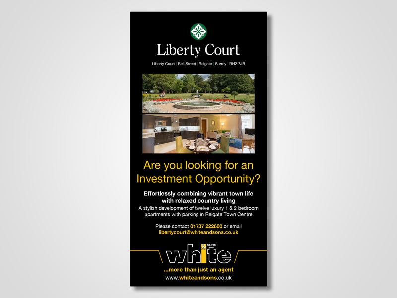 'Liberty Court' Property Development Email Marketing / eMarketing Campaign