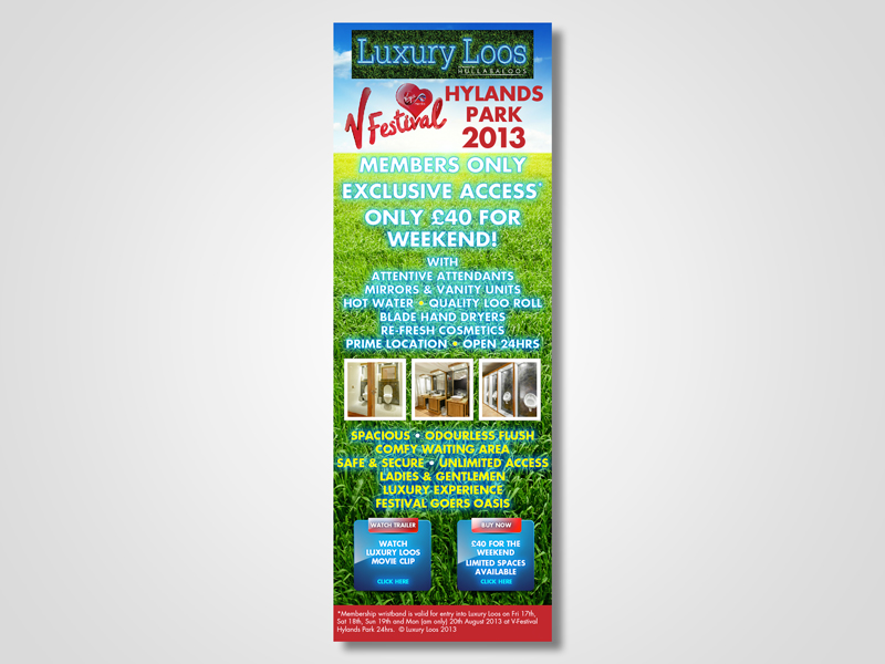 Luxury Loos Email Marketing / eMarketing Campaign