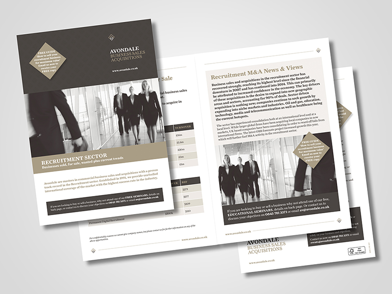 Avondale 'Sector Profile' Brochure Design
