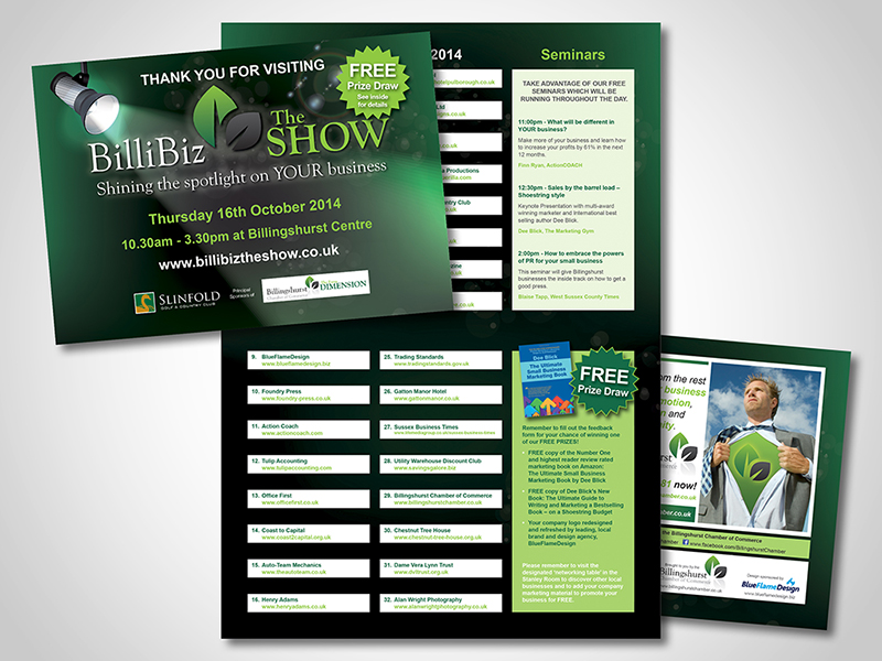 BilliBiz – The Show Direct Mail Design and Marketing