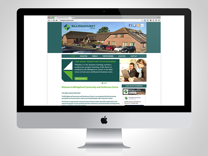 Billingshurst Centre Website Design