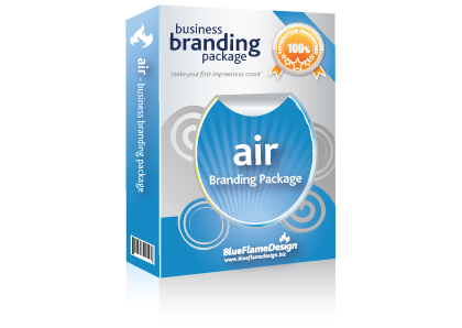 Air Business Branding Package from BlueFlameDesign