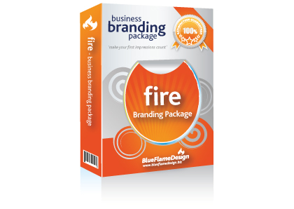 Fire Business Branding Package from BlueFlameDesign