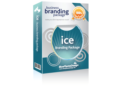 Ice Business Branding Package from BlueFlameDesign